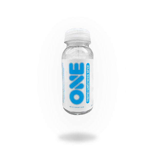 Hemp Infused Wellness Shot - 2oz Plastic Bottle