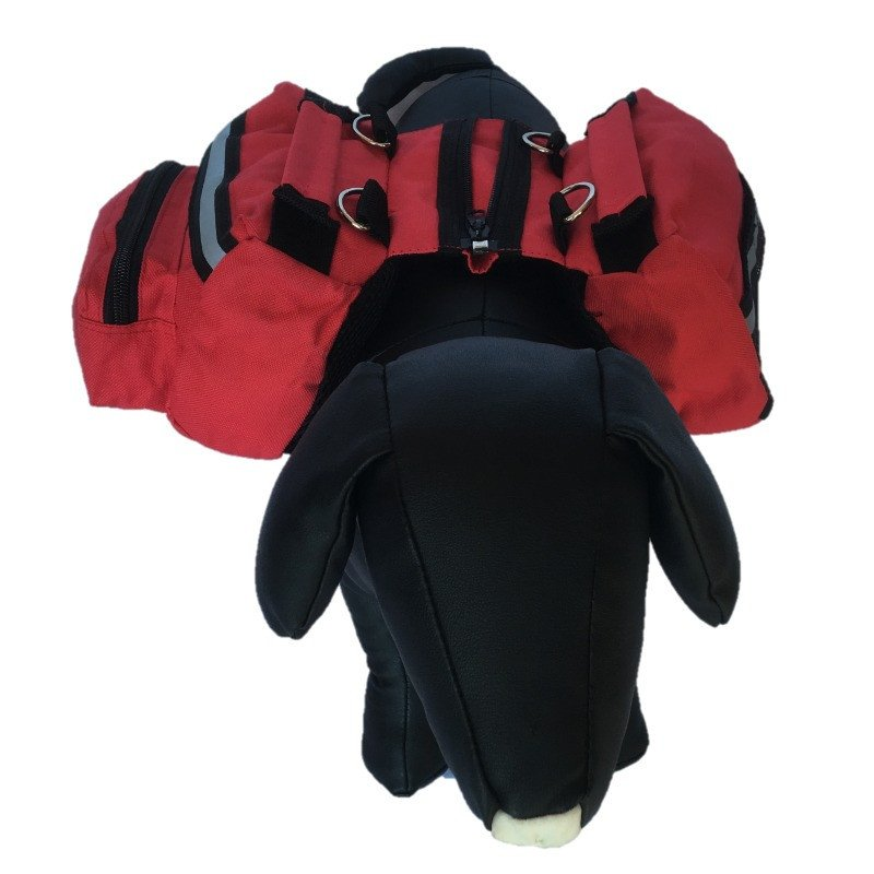 Red Dog Backpack - Large - Beavers Pet Products