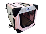 Ruff n Tuff Pet Crate - Pink Small - Beavers Pet Products