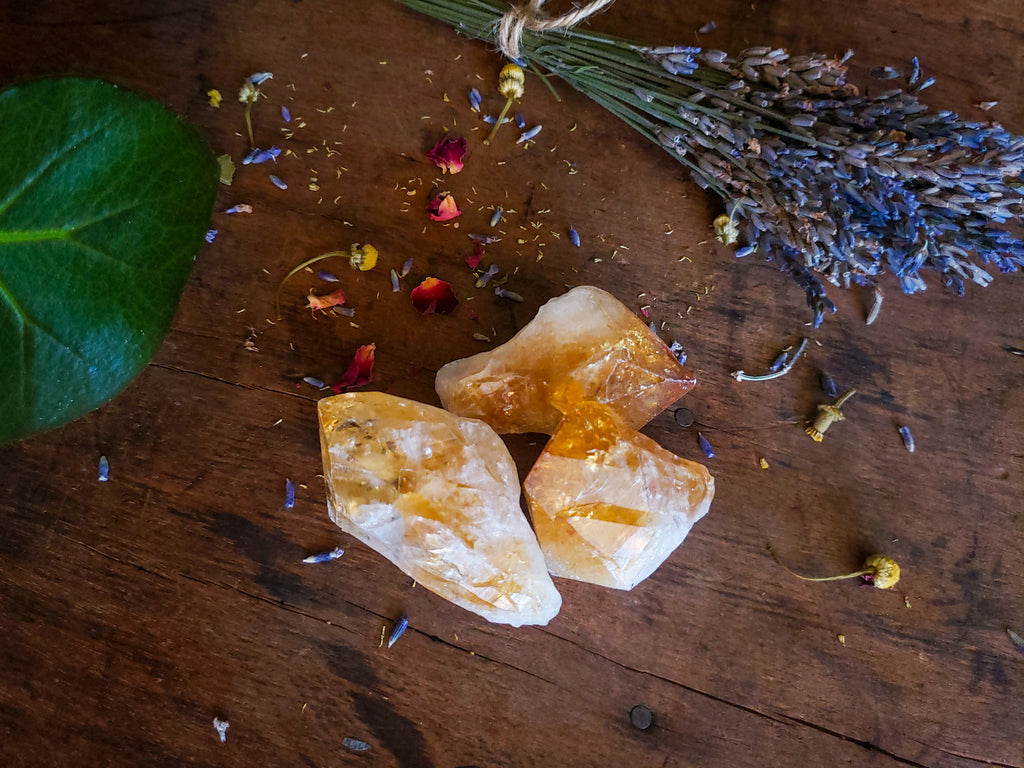 Stones & Crystals - Citrine Point