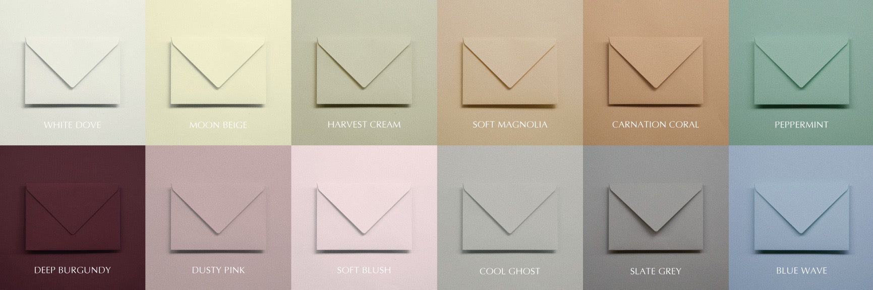 Envelope Colours