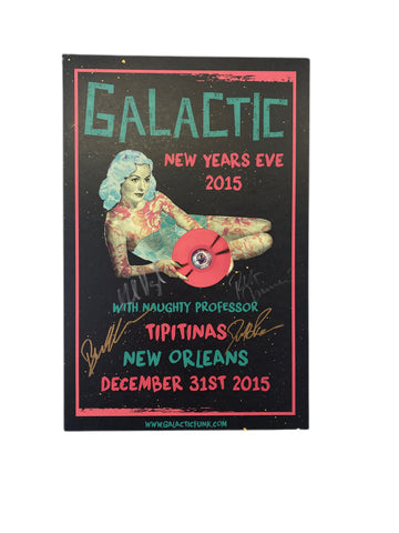 2015 New Year's Eve at Tipitina's Poster - SIGNED