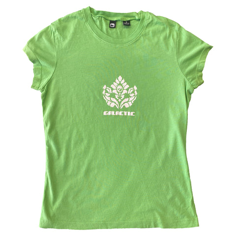 Girls Green Leaf T-Shirt