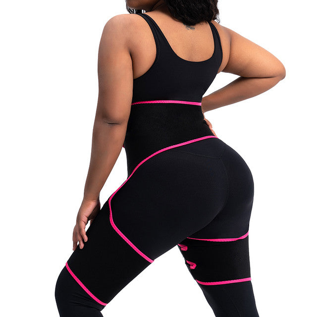 SweatVEE® Thigh & Waist Trainer with Arm band