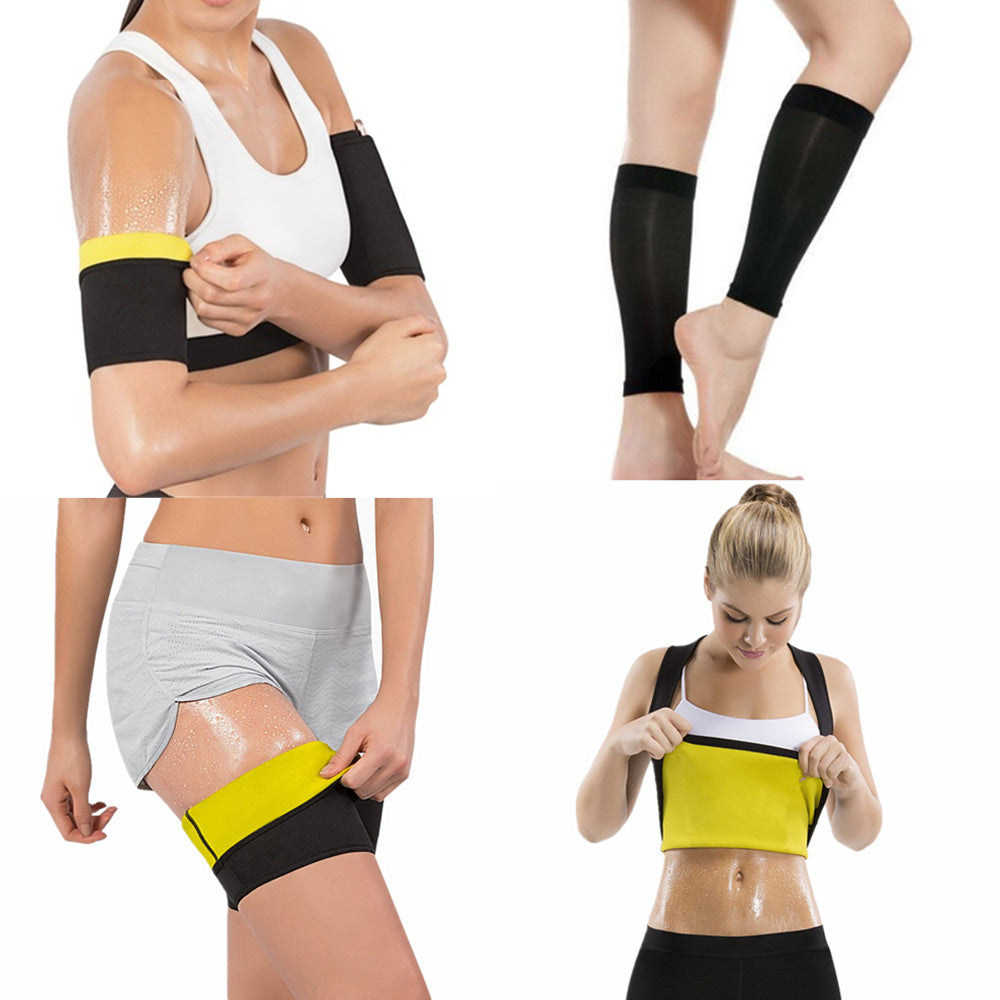 SweatVEE® Arm, Legs and Body Shape Wear