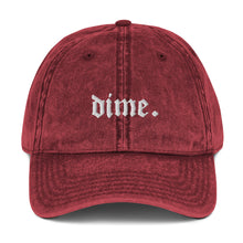 Load image into Gallery viewer, DIME VINTAGE HAT