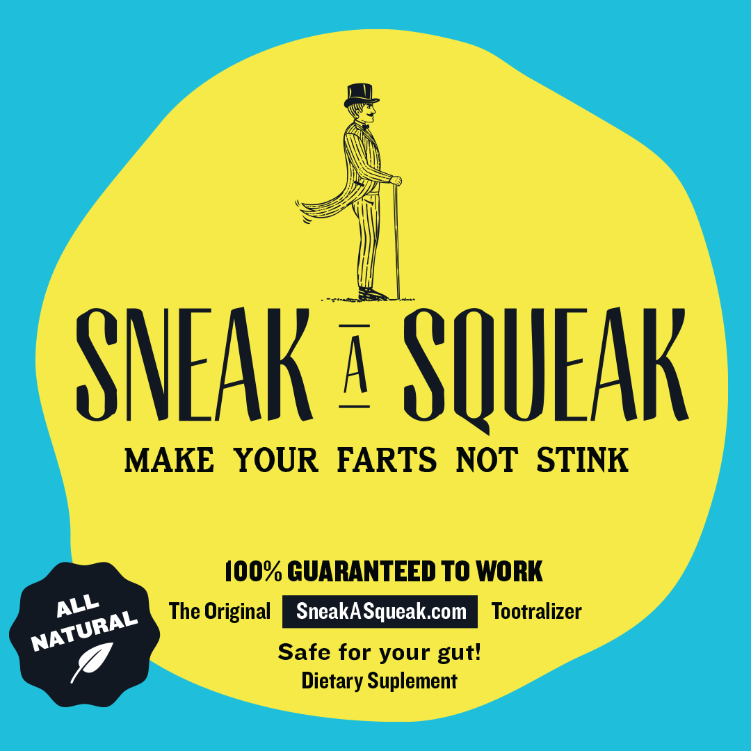 Sneak A Squeak - 3 Bottles, 180 Capsules - FREE SHIPPING
