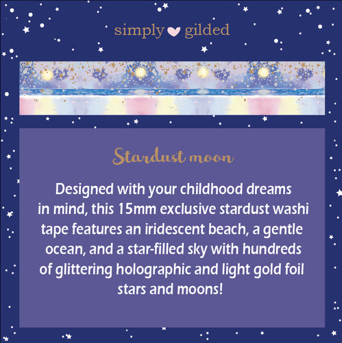 Exclusive Simply Gilded Washi + Collectible Hardcover Book