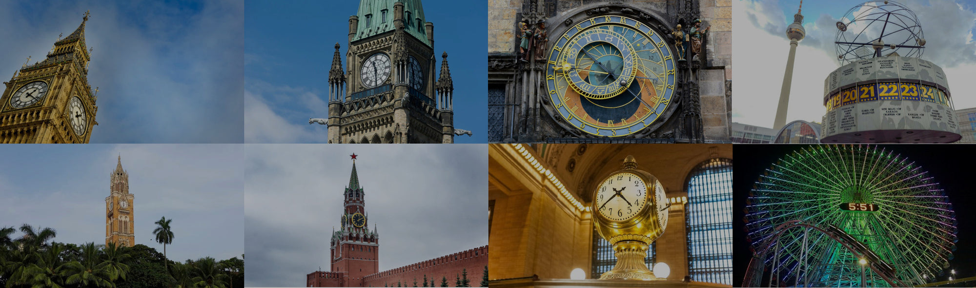 The top ten most famous clocks - Clock Corner