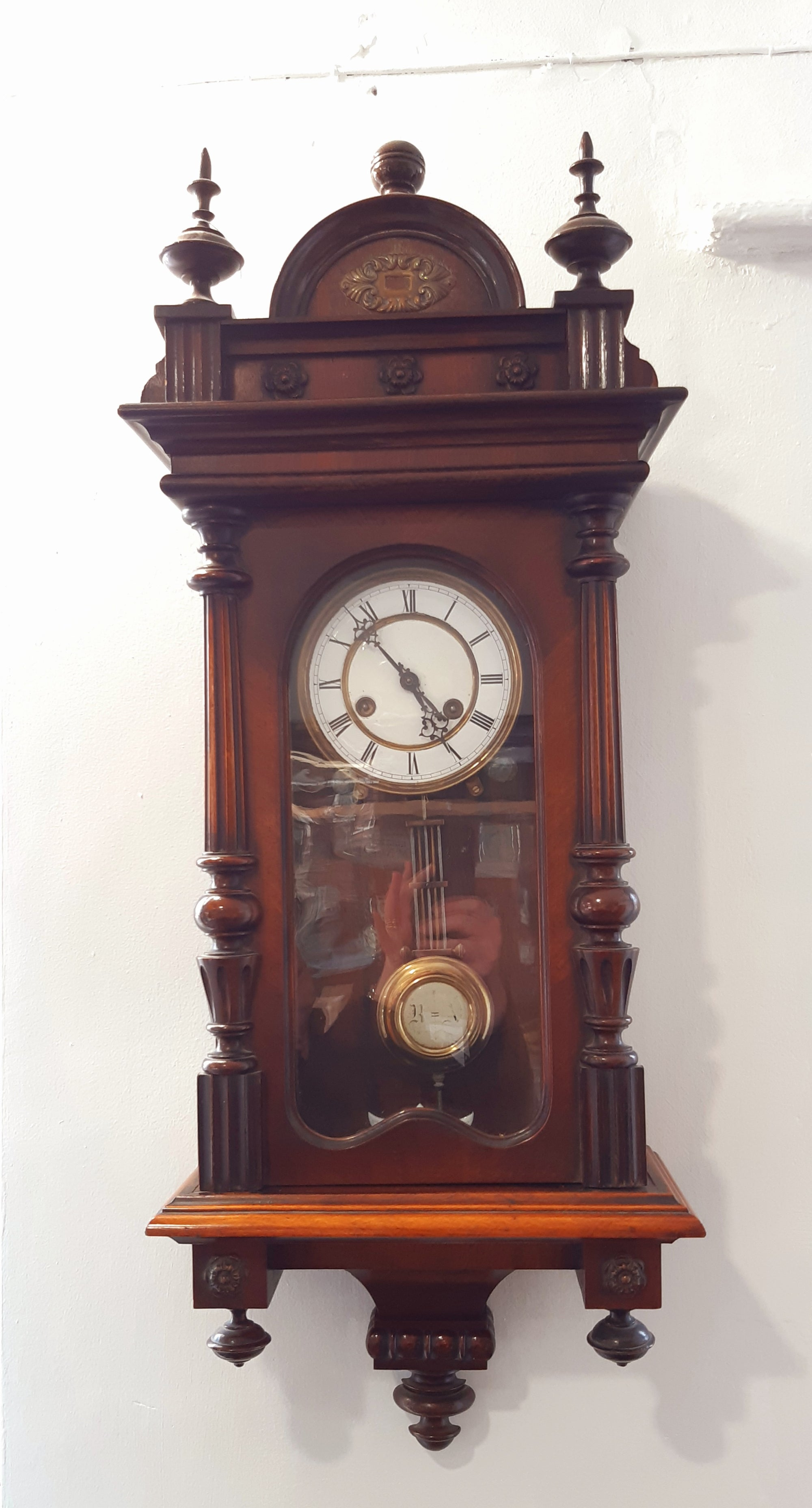 Bavarian 8 Day Strike Wall Clock - SH Antique | Antique Clock | Clock Corner
