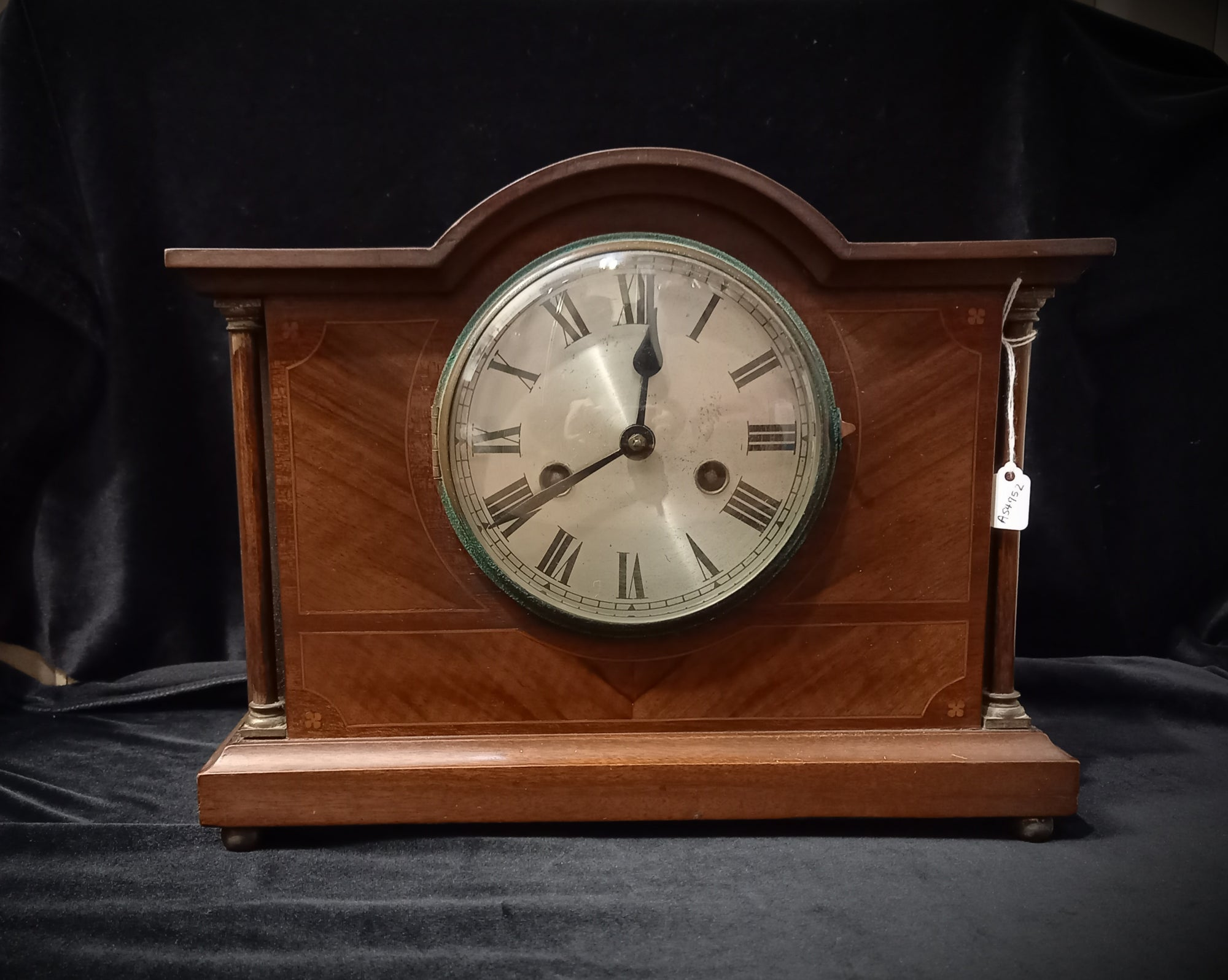 SH Antique Strike Mantle/Shelf Clock
