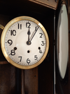 SH Antique Edwardian Westminster Strike Wall Clock