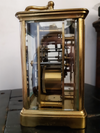 Side view | Brass Carriage Clock - SH Antique | Carriage Clock | Clock Corner