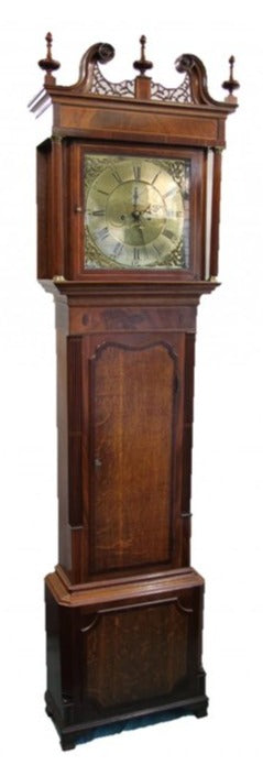 Elizabeth Williams Grandfather Clock – SH Antique | Longcase Clock | Clock Corner