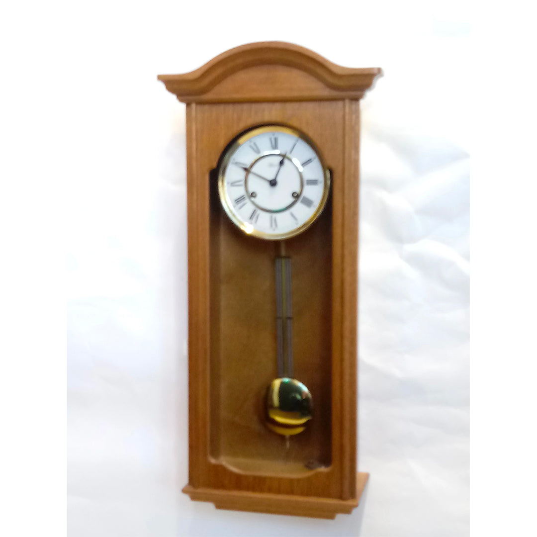 Hermle Oak Wall Clock
