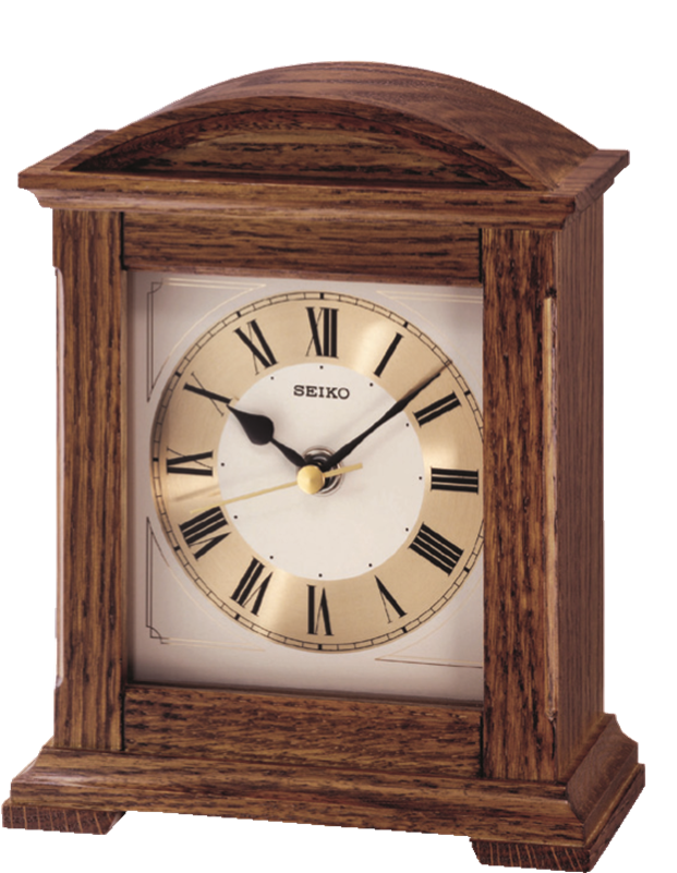 Seiko Quartz Wooden Mantle Clock