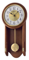 Seiko Wooden Pendulum Quartz Wall Clock