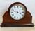 Polished Oak Timepiece Mantle/Shelf Clock - SH Antique | Mantel Clock | Clock Corner