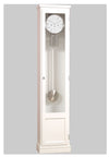 BILLIB Cleo White Grandfather Clock | Grandfather Clock | Clock Corner