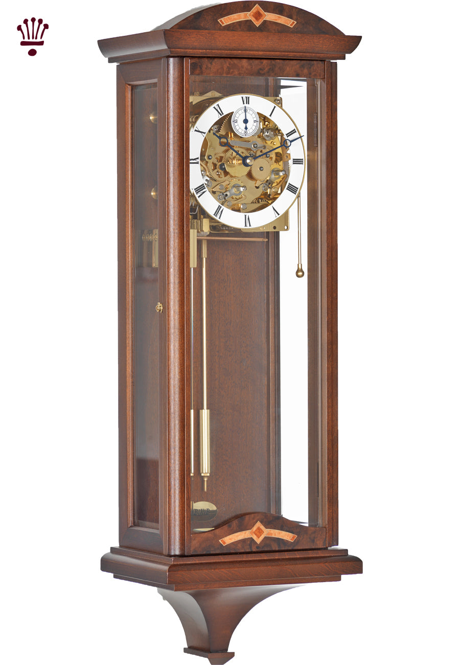 Billib Redhill Walnut Wall Clock