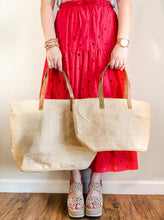 Load image into Gallery viewer, Mom Stuff Jute Tote