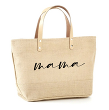 Load image into Gallery viewer, Mama Jute Tote