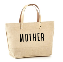 Load image into Gallery viewer, Mother Jute Tote