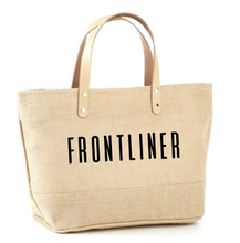 Load image into Gallery viewer, Frontliner Jute Tote