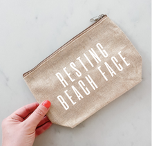 Load image into Gallery viewer, Resting Beach Face Clutch