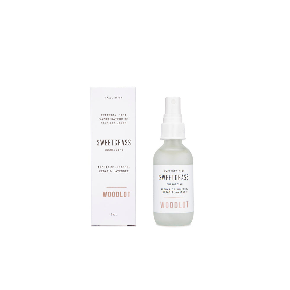 Woodlot Sweetgrass Everyday Mist