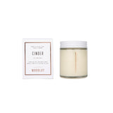 Woodlot Cinder Candle