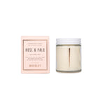 Woodlot Rose & Palo Candle