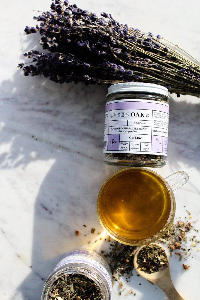 Lake + Oak Tea Co. Gut Love - Organic Superfood Tea