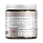 Lake + Oak Tea Co. Chaga Coconut Chai - Organic Superfood Tea