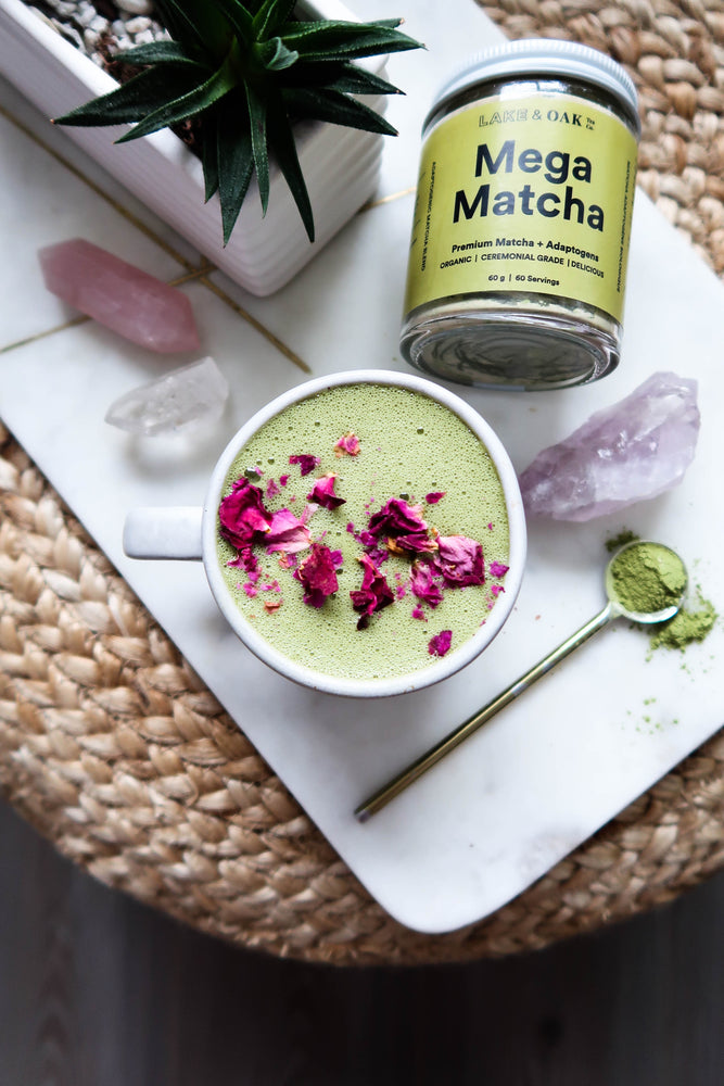 Lake + Oak Tea Co. Mega Matcha - Matcha Adaptogen Blend