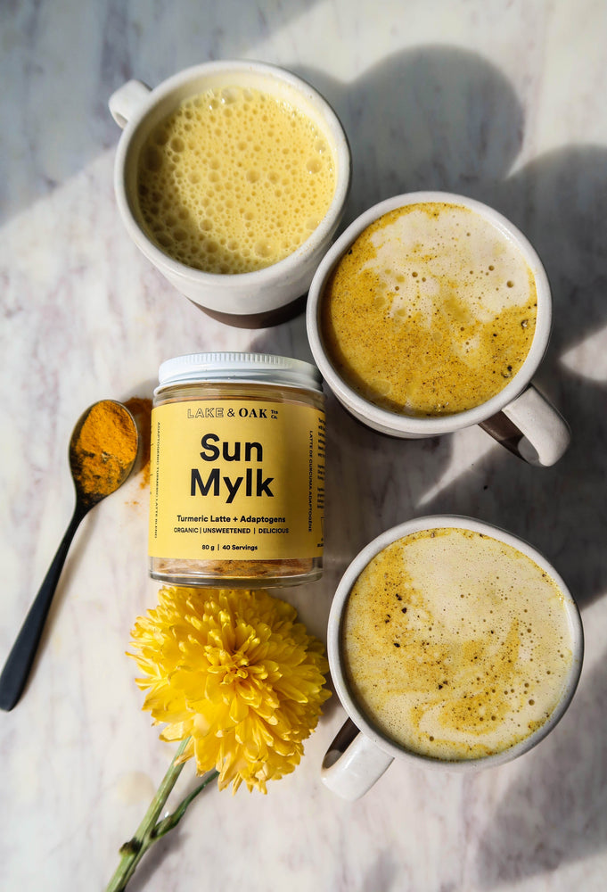 Lake + Oak Tea Co. Sun Mylk - Turmeric Latte Adaptogen Blend