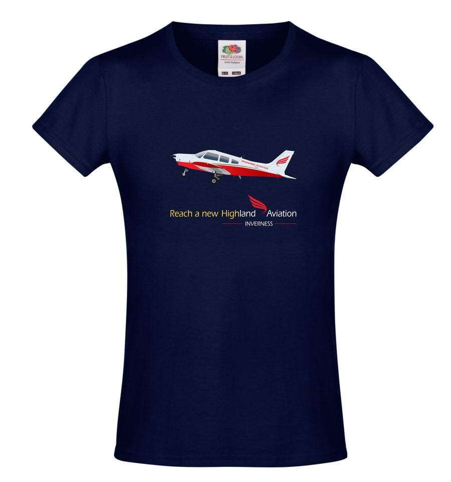 Highland Aviation T-Shirt - Aeroplane Reach a New High - Highland Aviation