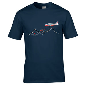 Highland Aviation T-Shirt - Highland Mountains - Highland Aviation