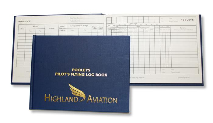 NLB010 Pilot Log Book - Highland Aviation