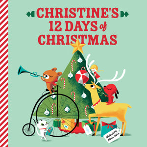 Our Family's 12 Days of Christmas Personalized Book