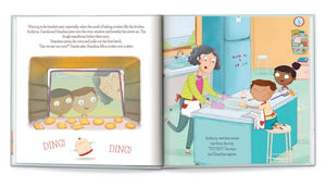 Baking Cookies Together Personalized Storybook
