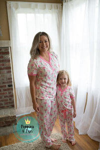 Ladies Spring Pajamas