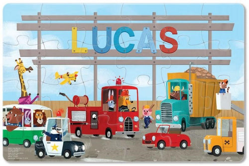 Truck Personalized Puzzle