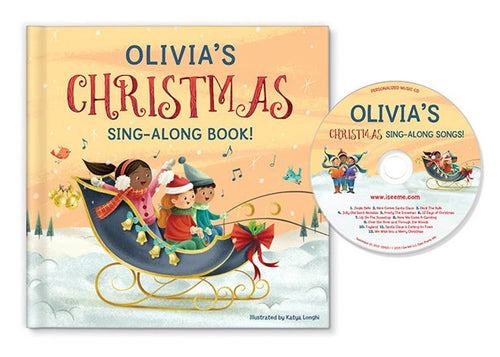 My Christmas Sing-Along Book and CD Gift Set