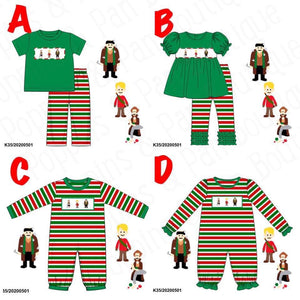 Home Alone Smocked Collection