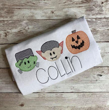Load image into Gallery viewer, Personalized Stitched Halloween Shirts