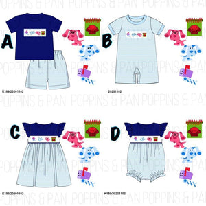 Smocked Blues Clues Collection - Set & Dress