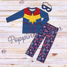 Load image into Gallery viewer, Girl Superhero Loungewear Sets