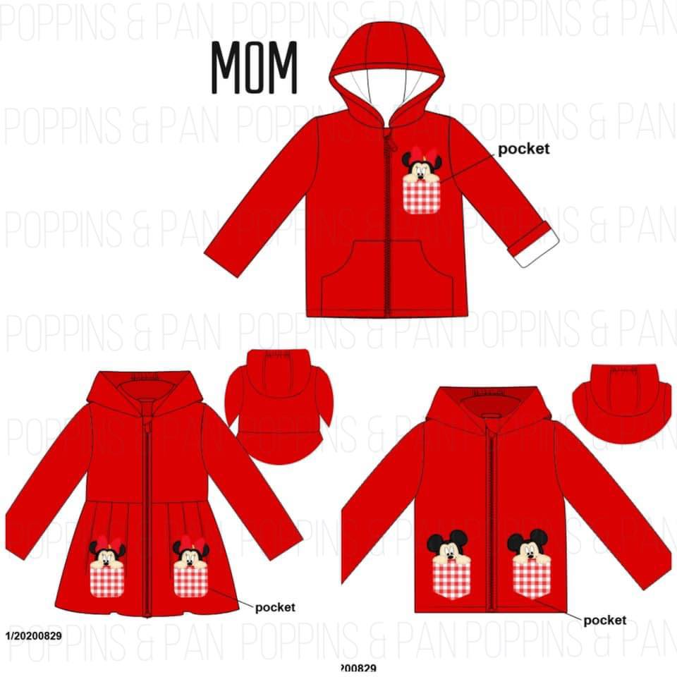 Disney Raincoat Collection - Mom