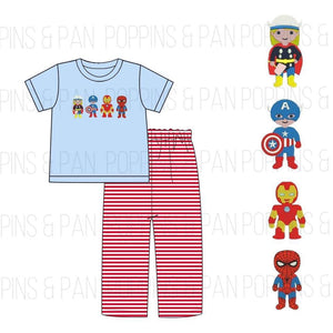 Marvel Applique Sets
